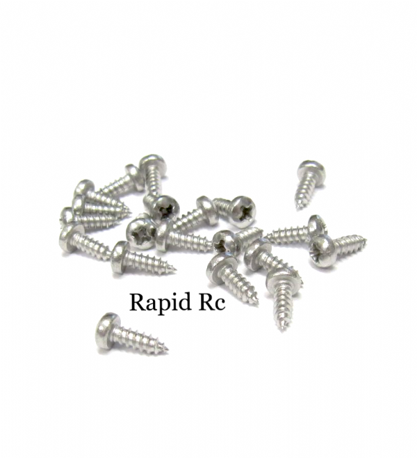 Stainless steel pan Head Phillips Self Tapping screw 2.2mm x 6.5mm